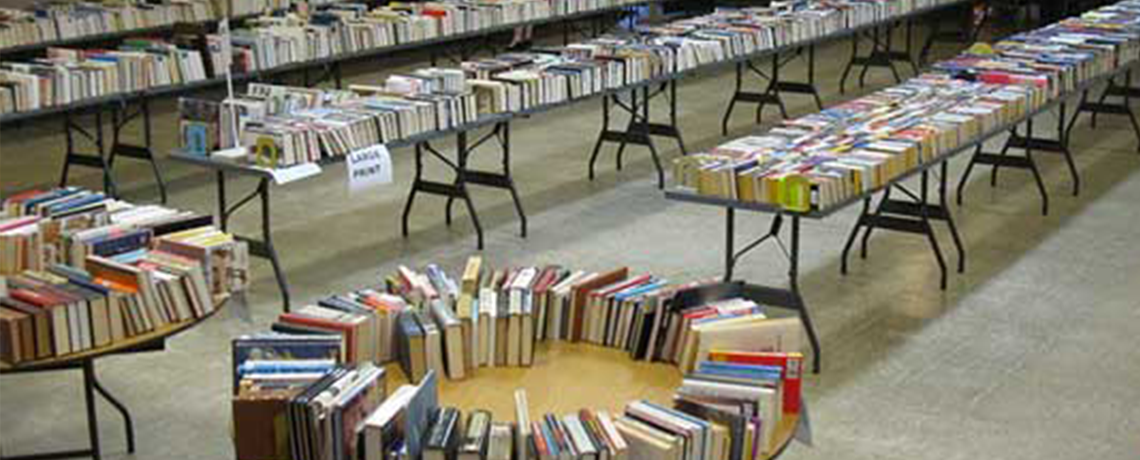 2019 Annual Used Book Sale March 29 & 30